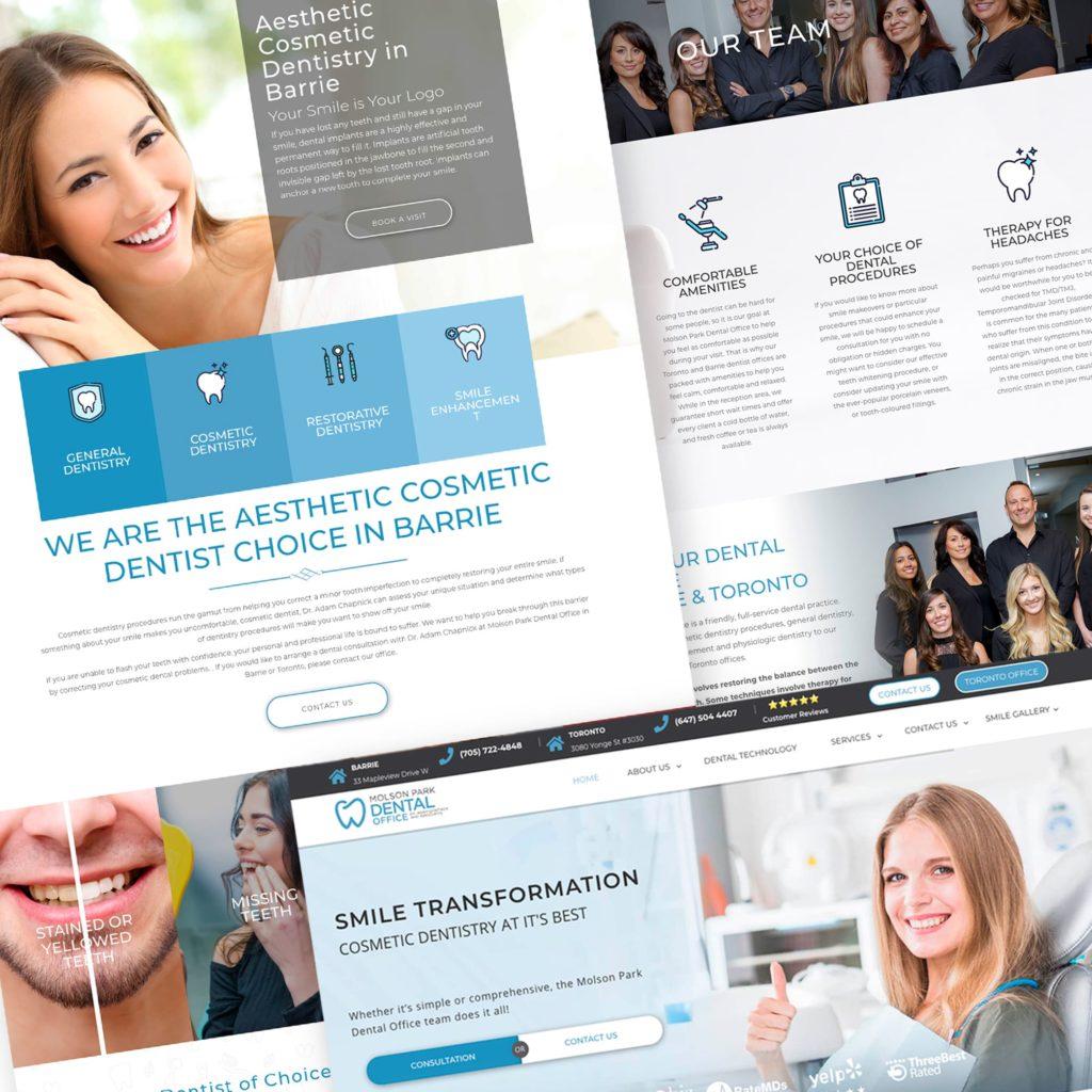 Web Design Medical Firm Dnovo