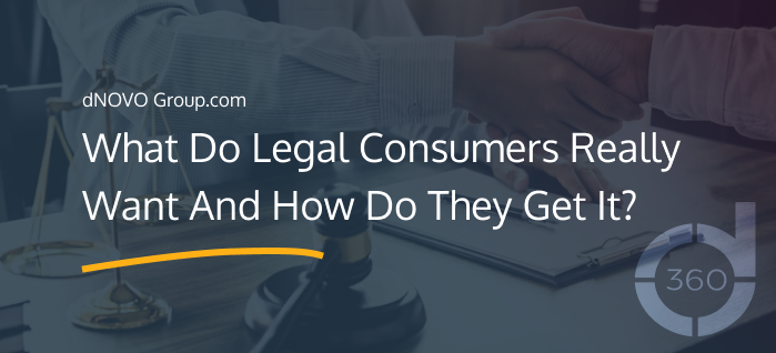 What Do Legal Consumers Really Want