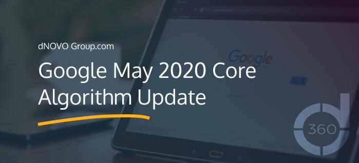 Google May 2020 Core Algorithm Update