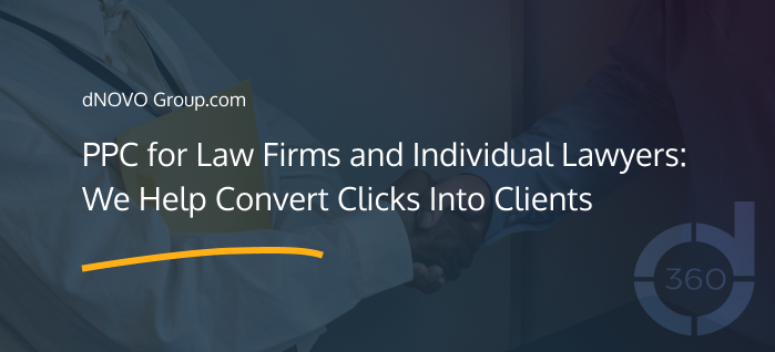 PPC for Law Firms and Individual Lawyers