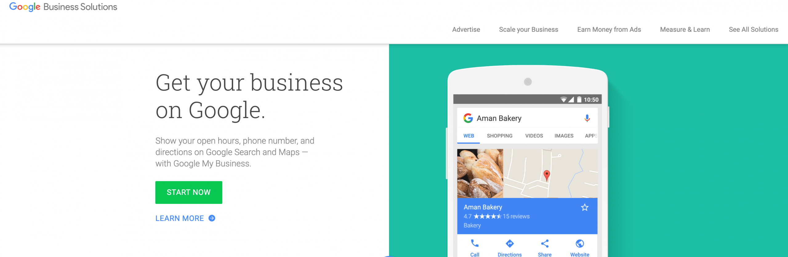 claiming your business on google