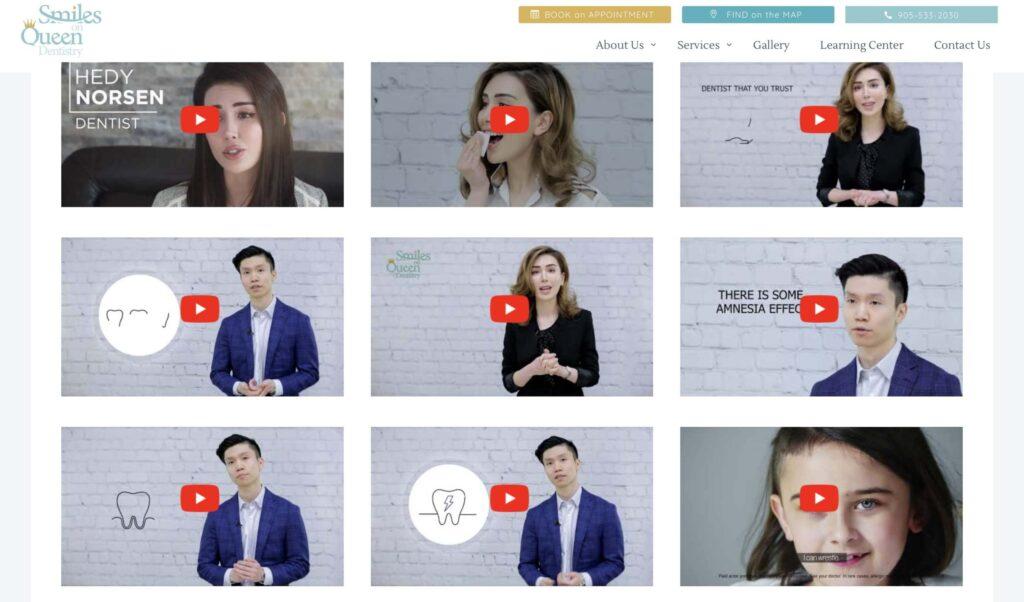 Dental Video Dental Marketing