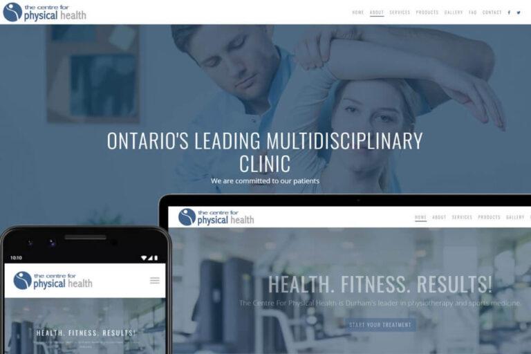 CP Health dNovo Webdesign