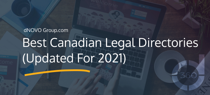 Best Canadian Legal Directories (Updated For 2021)