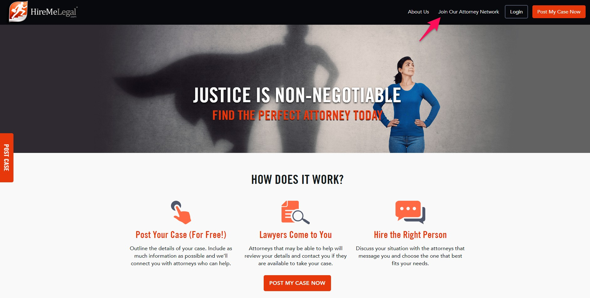 HireMeLegal helps clients find the perfect attorney fast