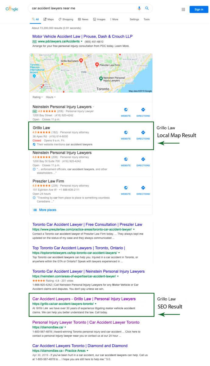 dNovo Grillo Law Search Results
