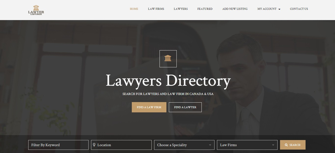 Lawyers directory