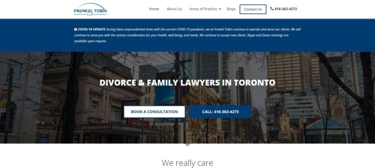 Frenkel Tobin SEO family lawyer marketing dNovoGroup