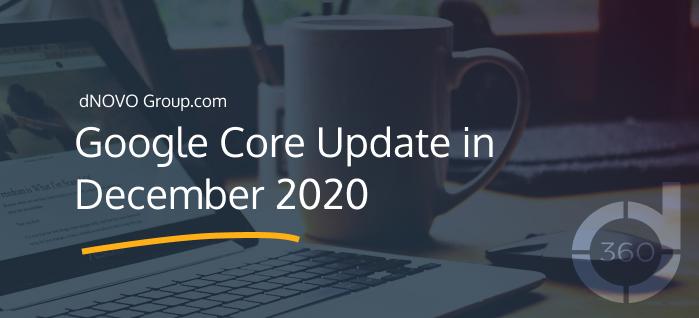 Google Core Update in December 2020
