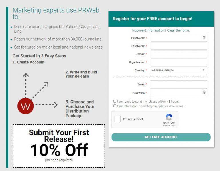 Cision PRWeb service