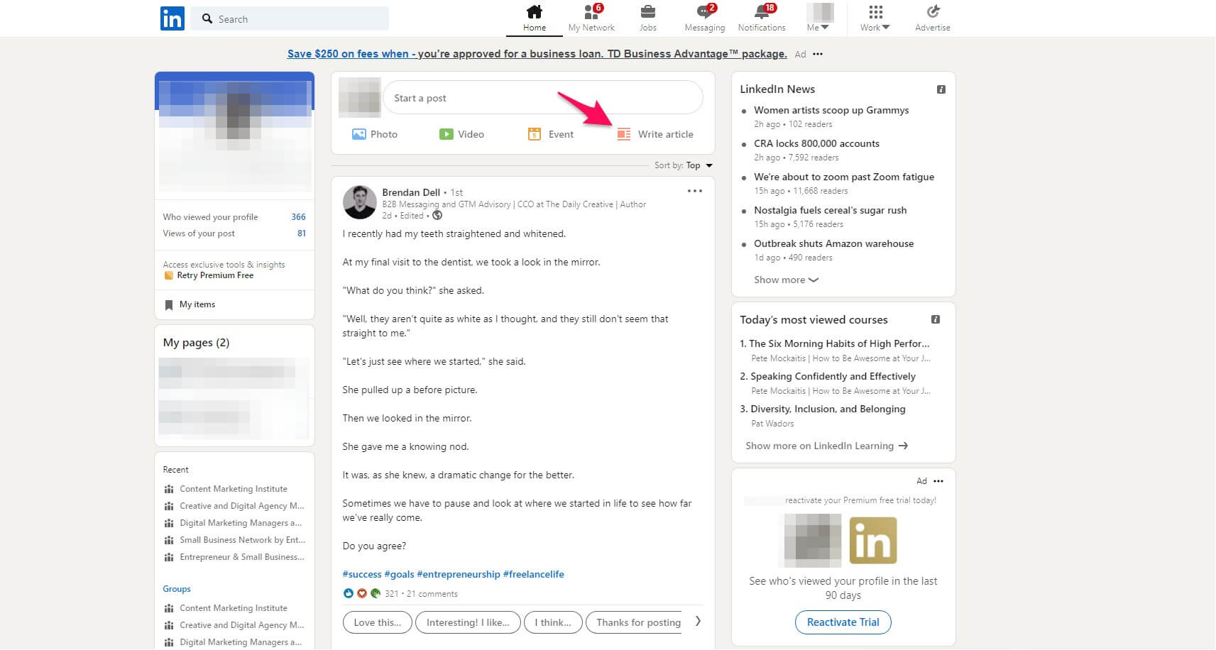 How to publish on LinkedIn Pulse to connect with your audience