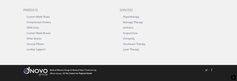 Center physical health