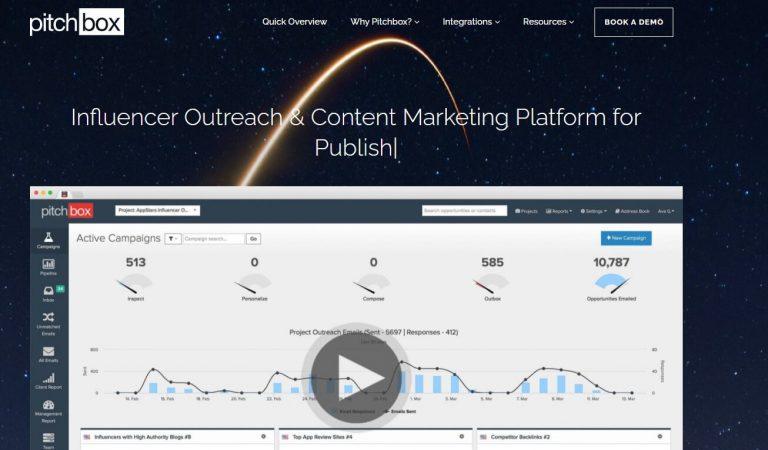 pitchbox marketing platform