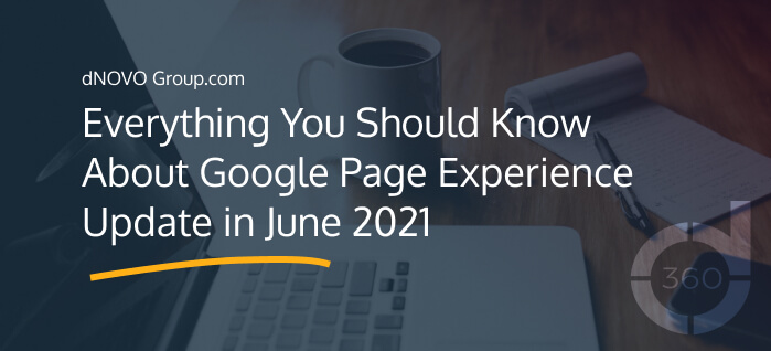 Google Page Experience Update June 2021