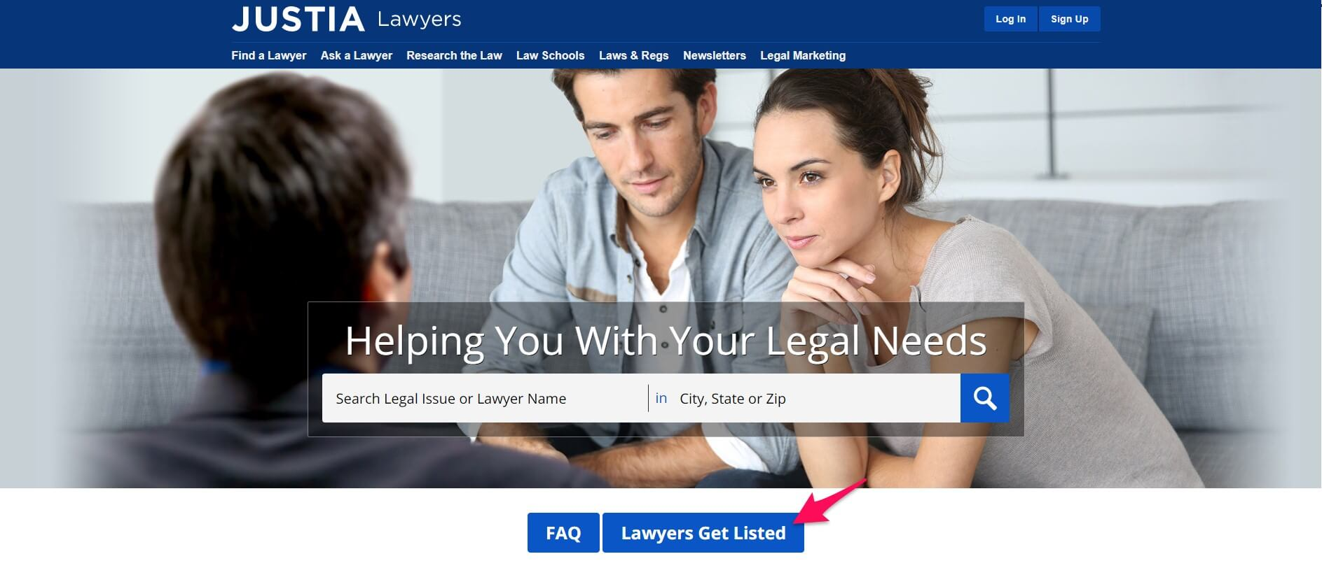 Justia is an online legal directory