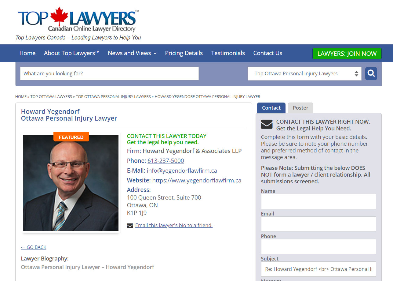 Local and International Law Firm Directories