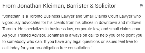 Small Claims Court Lawyer