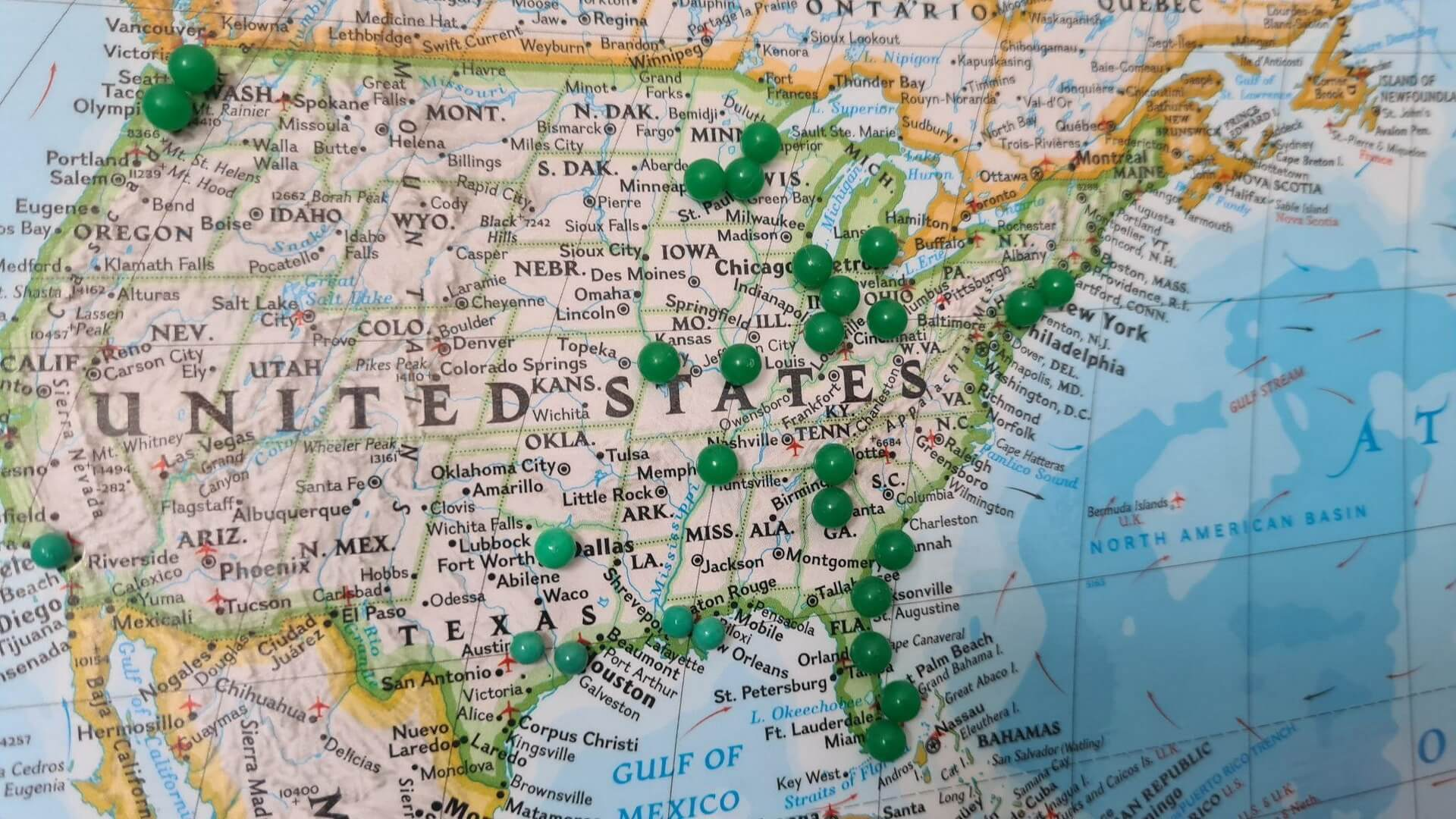target an entire state in the United States
